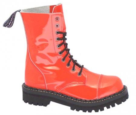 b7e188c8d90 10 dírkové boty CAMPILOT Orange Lak   Campilot.cz - Kvalitní těžké ...