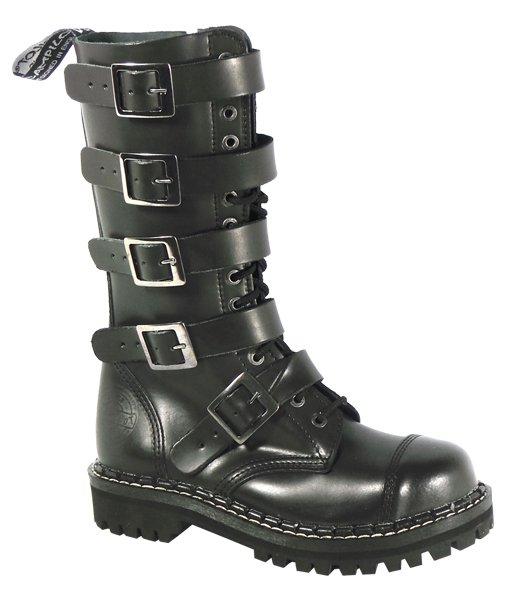 e225eed9fb3 15 dírkové boty CAMPILOT Black 5 přezek