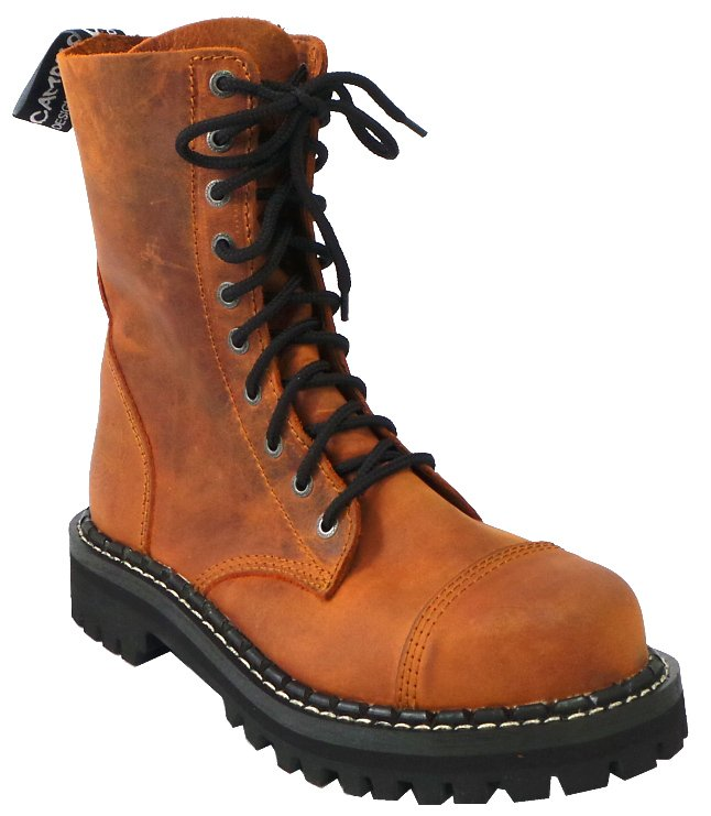 10 dírkové boty CAMPILOT Crazy Orange   Campilot.cz - Kvalitní těžké ... 5f7f6812e9