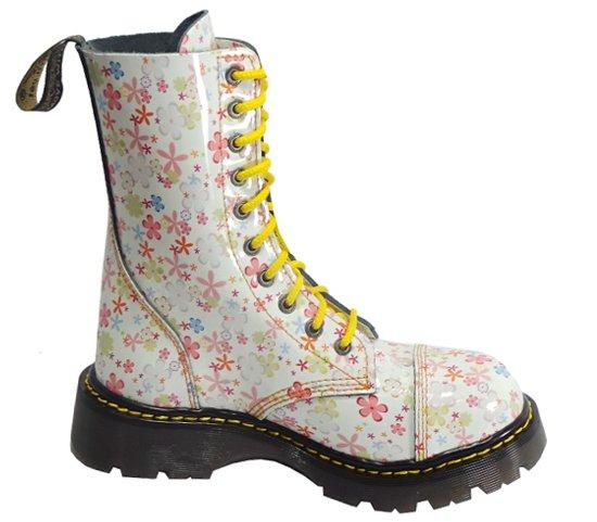 71ac8a55a40 10 dírkové boty CAMPILOT Flowers   Campilot.cz - Kvalitní těžké boty ...