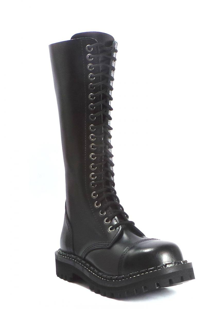 70669d3fcd6 20 dírkové boty CAMPILOT Black zip   Campilot.cz - Kvalitní těžké ...