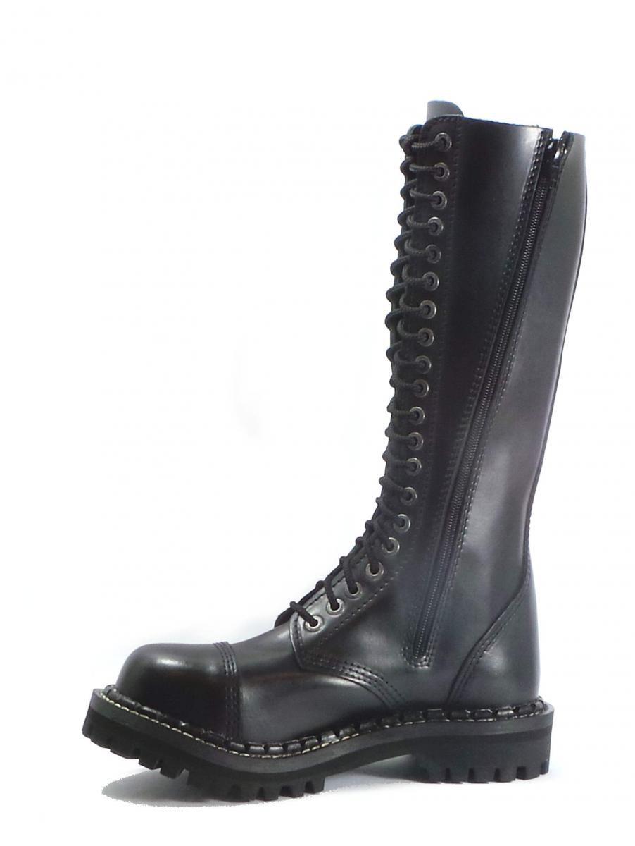 20 dírkové boty CAMPILOT Black zip   Campilot.cz - Kvalitní těžké ... 29667be533