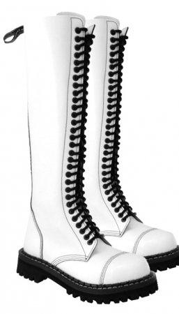 b77c7498503 30 dírkové boty CAMPILOT White   Campilot.cz - Kvalitní těžké boty s ...