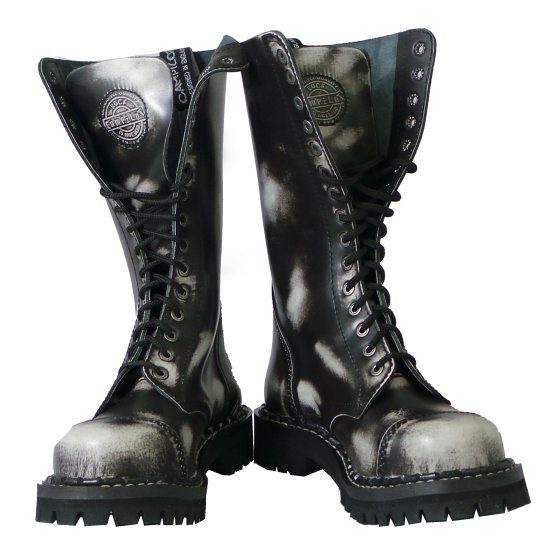 a4987be3d51 15 dírkové boty CAMPILOT White Black   Campilot.cz - Kvalitní těžké ...
