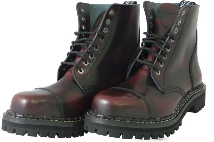 39476bc6f49 8 dírkové boty CAMPILOT Bordo Black   Campilot.cz - Kvalitní těžké ...